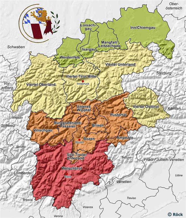 Alpenregion der Schützen
